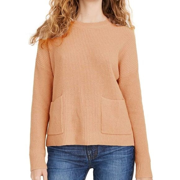 Madewell Patch Pocket Pullover Sweater - Small